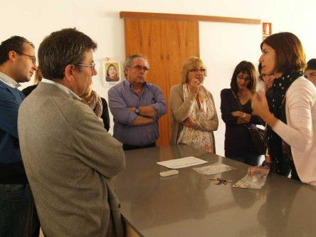 Visita de la Coordinadora de Centres de Profunds de Catalunya a Aproscom