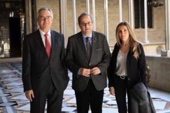 Presentación de la UAVDI al Muy Hble Presidente de la Generalitat, el Sr. Quim Torra.