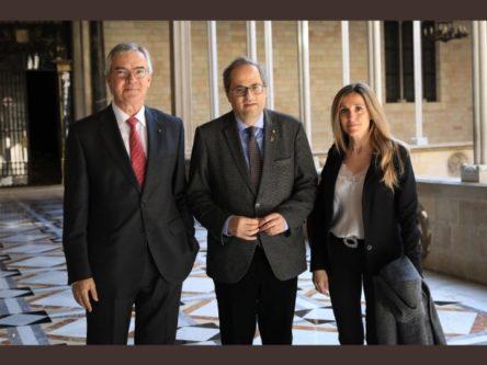 Presentació de la UAVDI al Molt Hble President de la Generalitat, el Sr. Quim Torra.