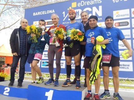 Cuatro deportistas con discapacidad intelectual participarán en la 30ª edición de la Media Maratón de Barcelona